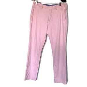 Bonobos Men Light Pink Dress Pant 33X30